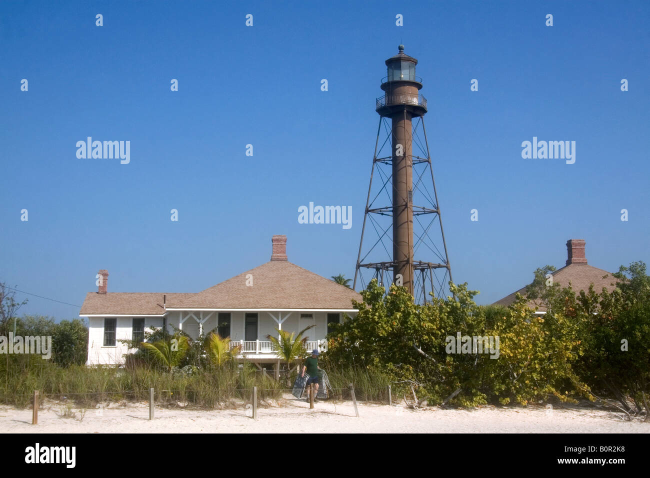 Sanibel Island Light Is The First Lighthouse On The Gulf Coast Of Florida Good Looking