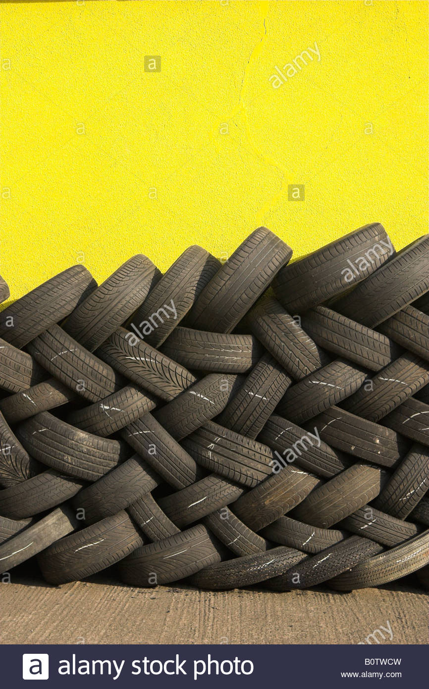 Pile Of Used Car Tyres Uk Stock Photo 17757177 Alamy