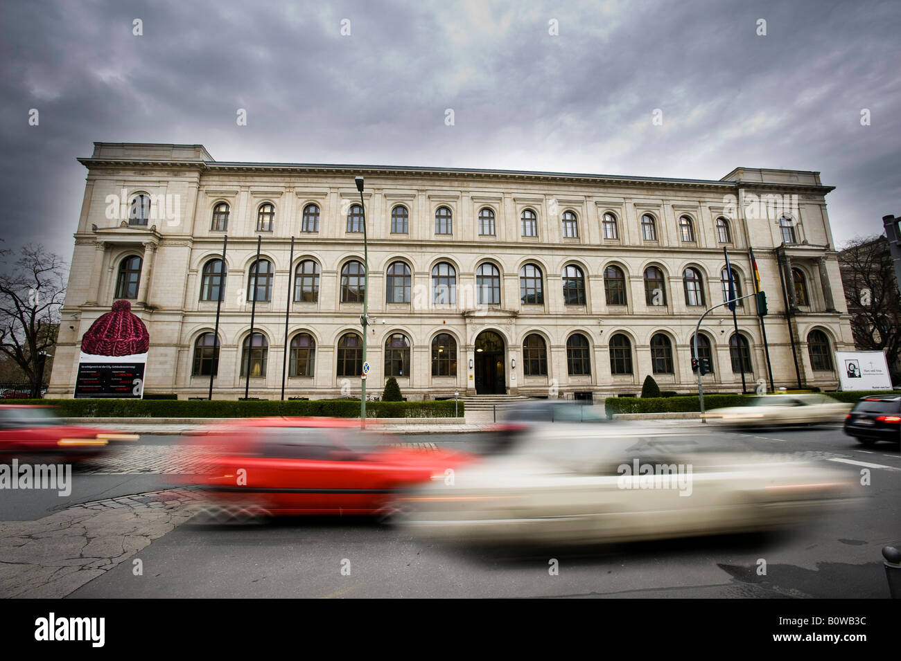 Federal Ministry of Transport, Building and Urban Affairs, Berlin, Germany - Stock Image