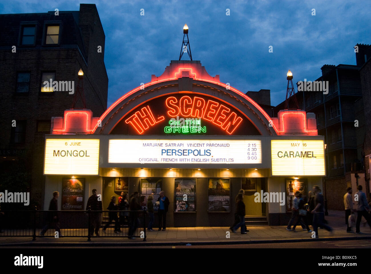 The Screen on the Green cinema on Upper Street, Islington, London England UK - Stock Image
