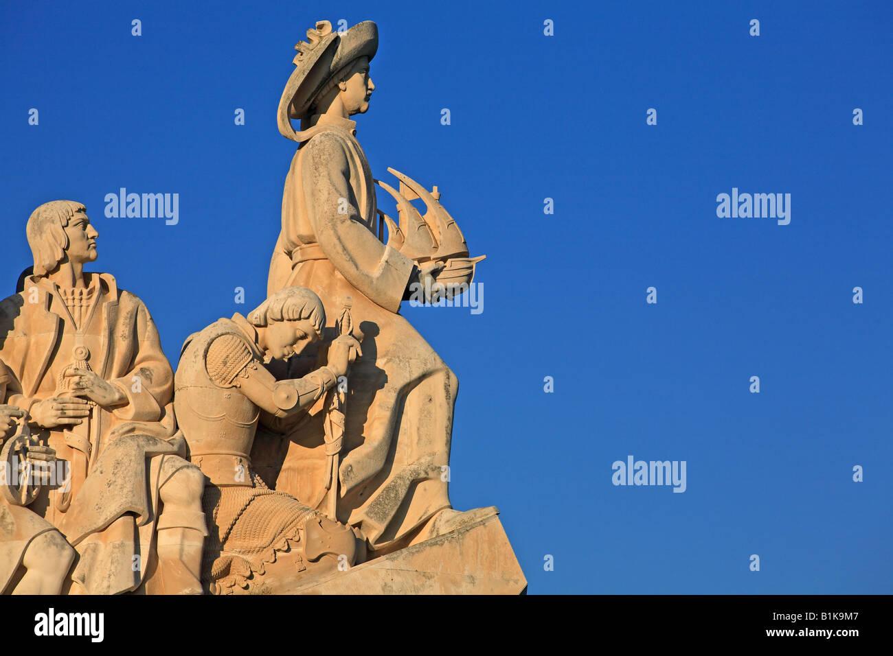 Padrao dos Descobrimentos, seafaring memorial, Lisbon, Portugal - Stock Image