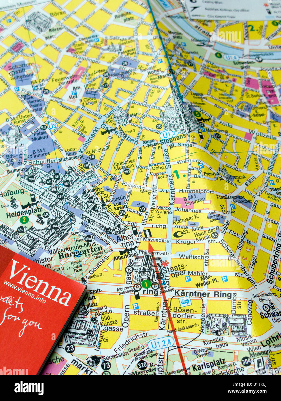 Map Of Vienna Stock Photos Map Of Vienna Stock Images Alamy