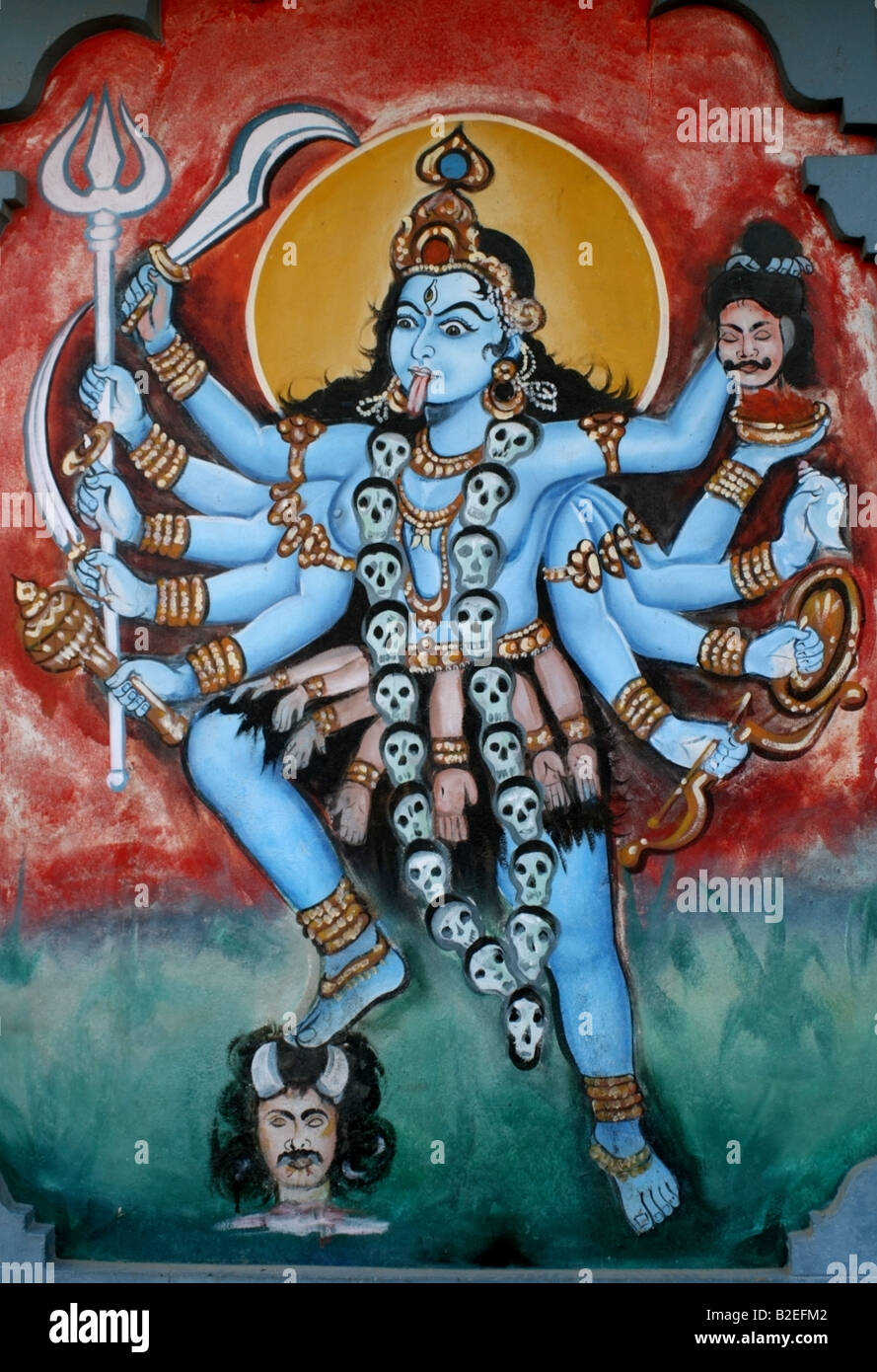 death and destruction in hindu mythology This demand for balance is woven all throughout life, with 'death' being what  gives life 'life' in religion, the gods of death, who are necessary.