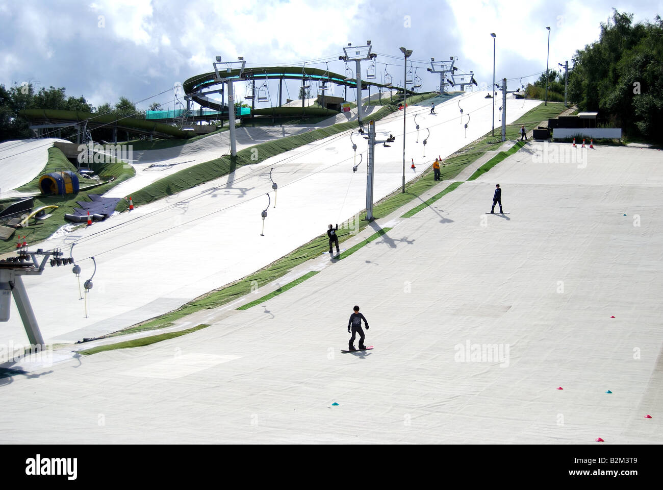 John Nike Skiing & Snowboarding Centre, Bracknell, Berkshire, England. United Kingdom Stock Photo