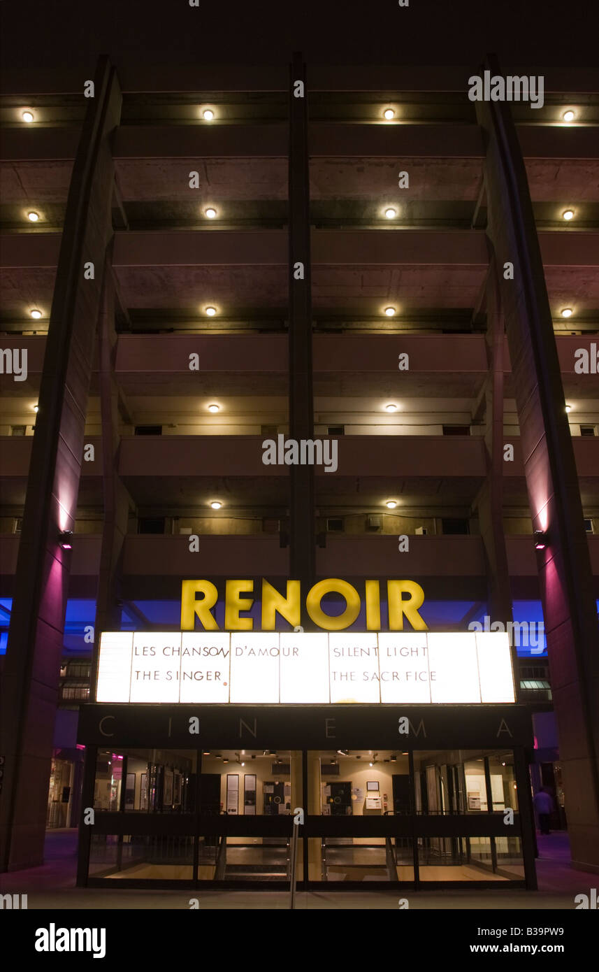 Renoir art house Cinema - Brunswick Shopping Centre - Bloomsbury - London - Stock Image