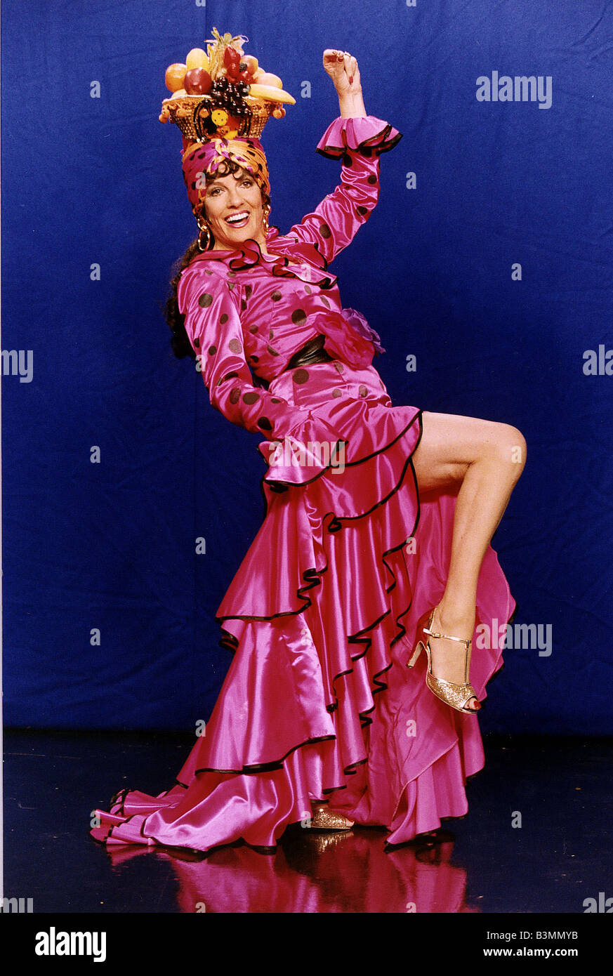 Esther Rantzen TV Presenter for BBC series Hearts Of Gold Stock Photo