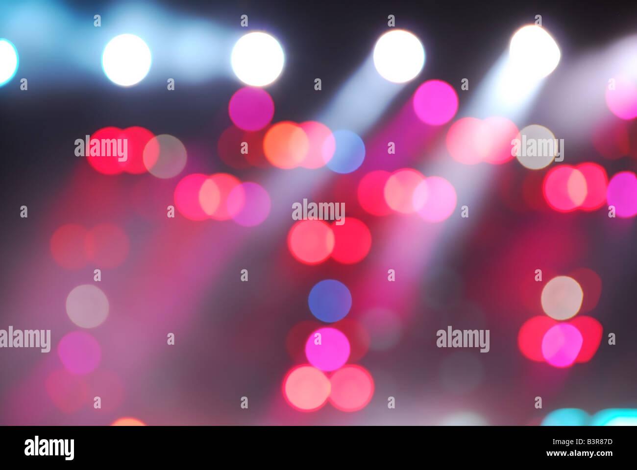 glowing light background - Stock Image