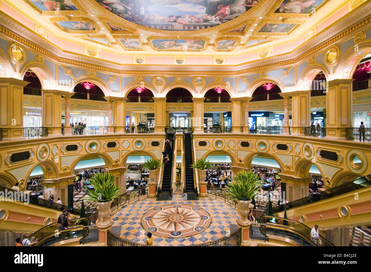 Interior of the venetian macao hotel and casino macau stock photo interior of the venetian macao hotel and casino macau thecheapjerseys Images
