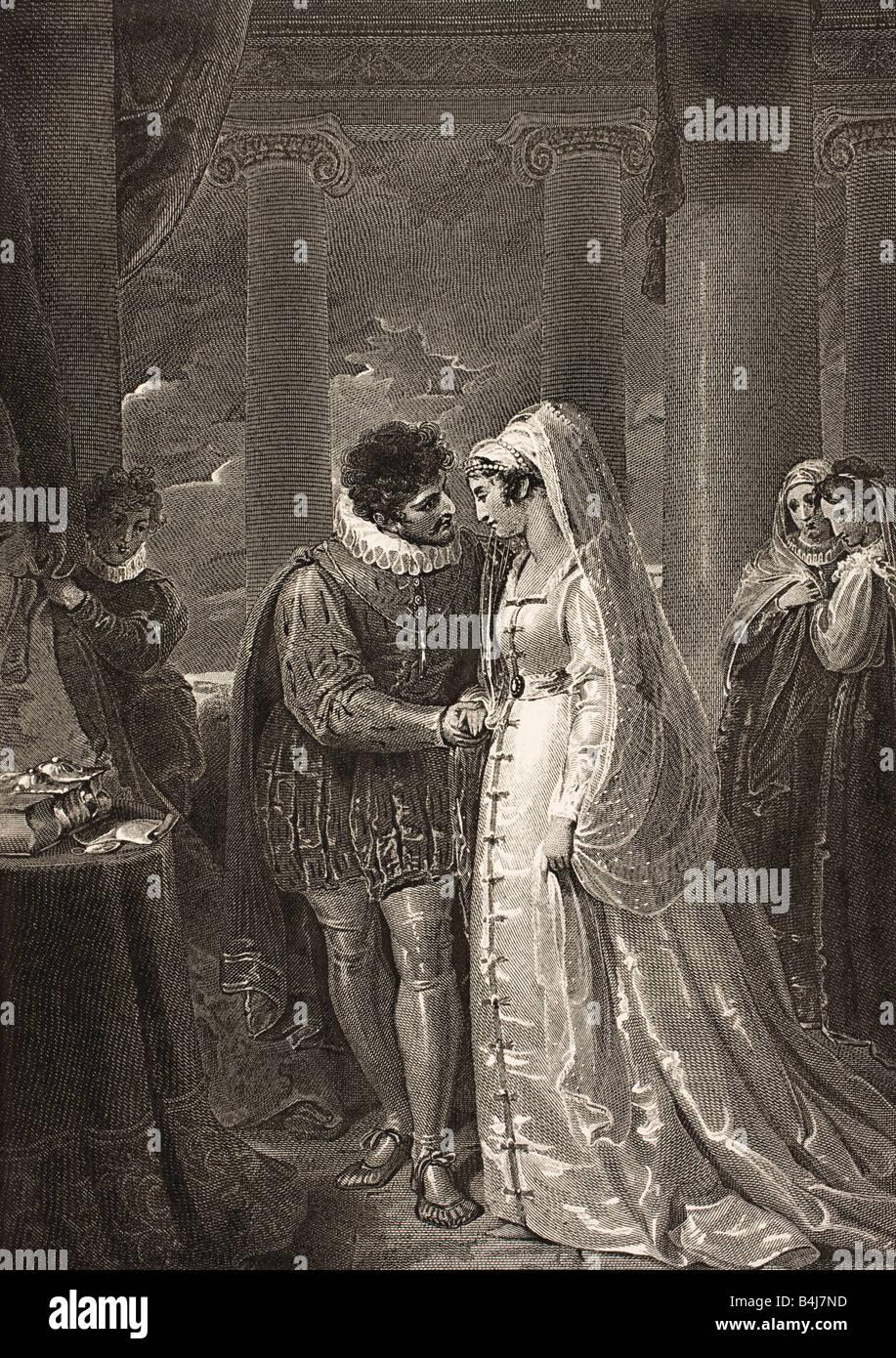 relationship between bassanio and portia