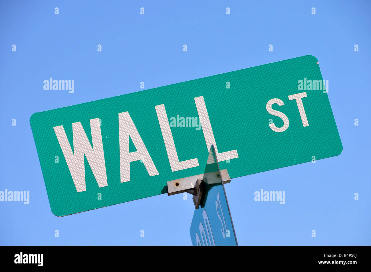 Wall Street sign - Stock Image