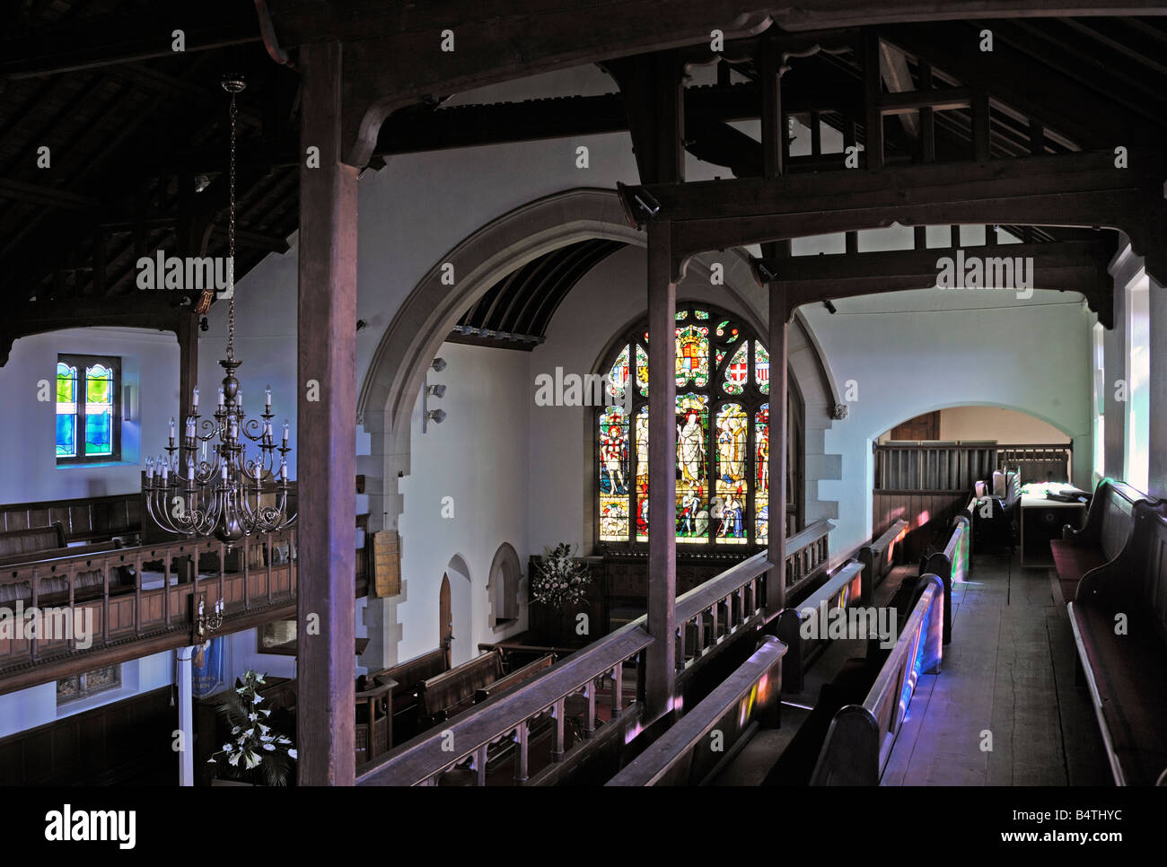interior-looking-east-from-the-south-gallery-church-of-saint-lawrence-B4THYC.jpg