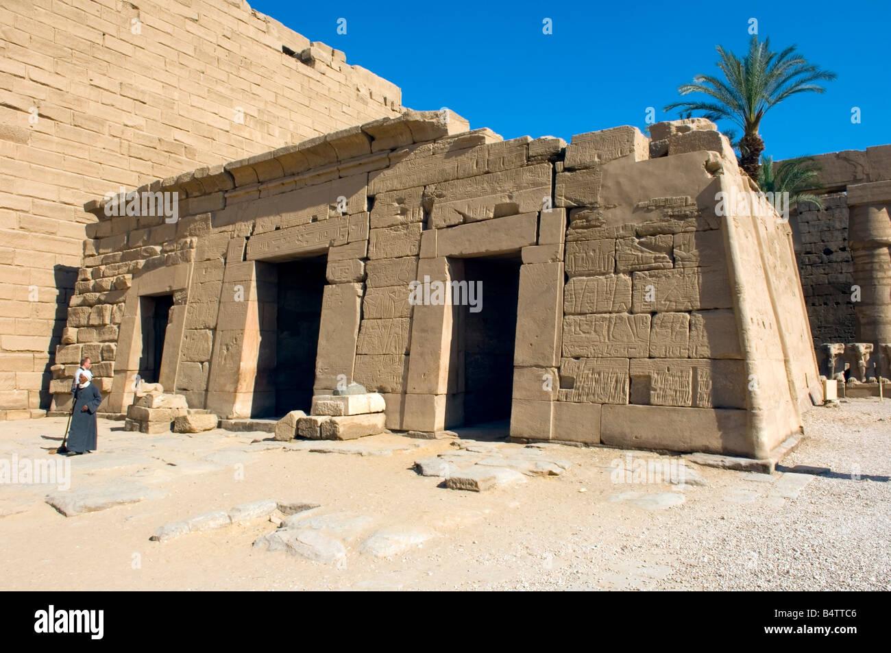 The barque chapel of Seti II, Karnak Temple Complex, UNESCO World Heritage Site, Luxor, Egypt Stock Photo