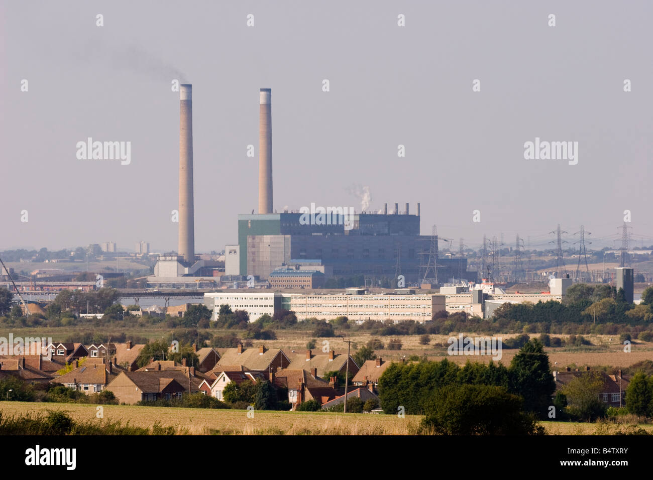 Barking coal fired power station - Stock Image