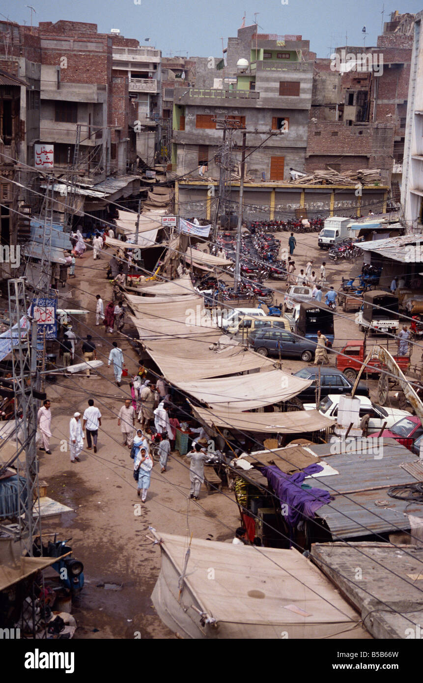 The Old City area in Lahore Punjab Pakistan Asia D C Poole - Stock Image