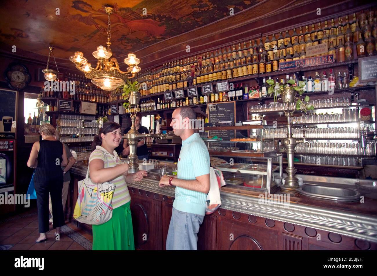 Cerveceria Angel Sierra, Barrio Chueca, Madrid, Spain, Europe Stock ...