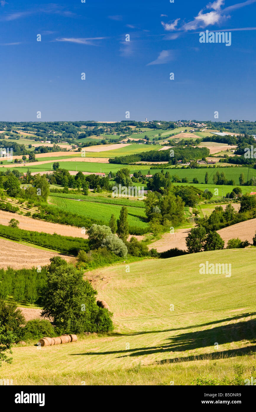 Tarn et Garonne - French countryside France, Europe - Stock Image