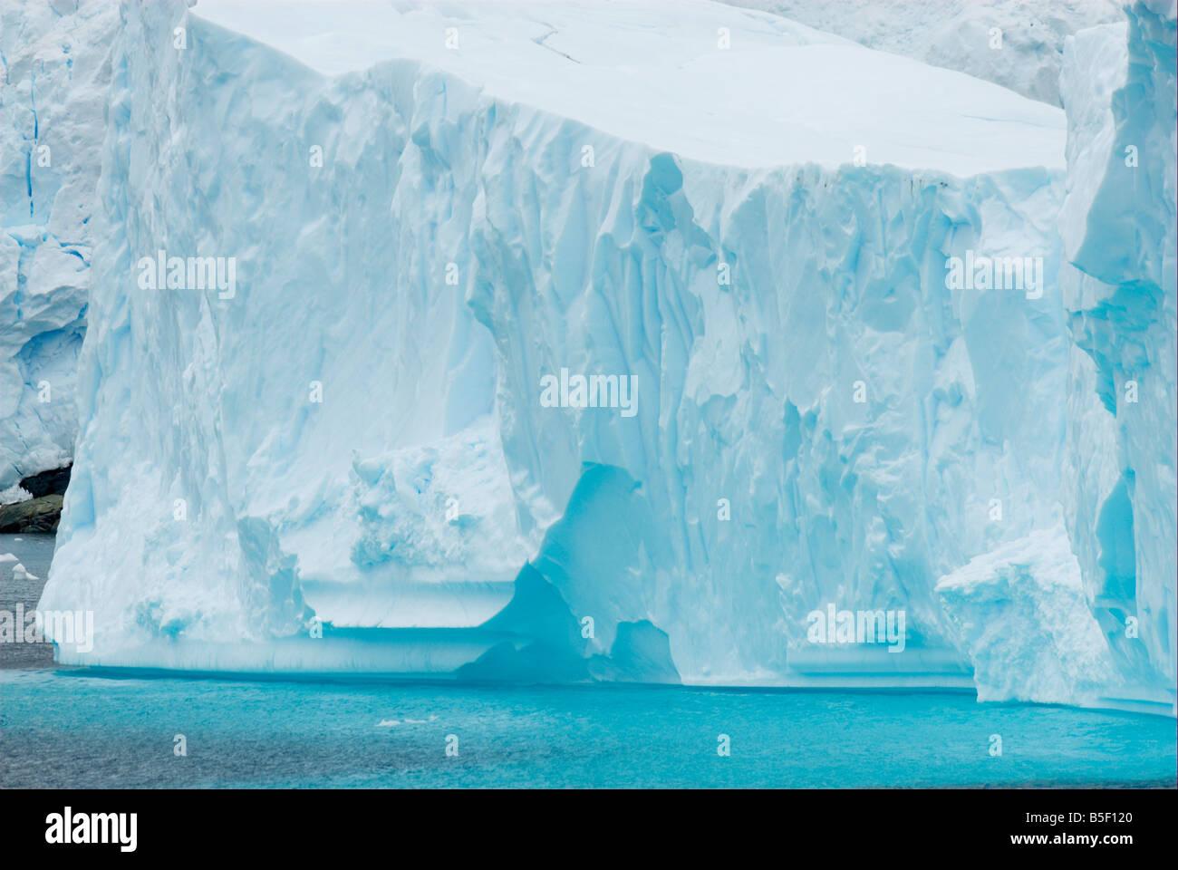 Iceberg in a bay - Stock Image