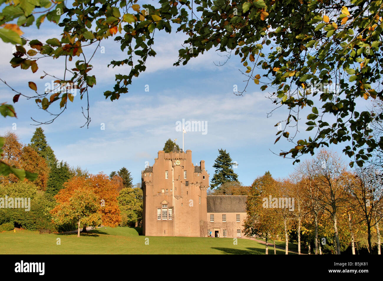 Crathes Castle, Banchory, Aberdeenshire, Scotland UK . Stock Photo