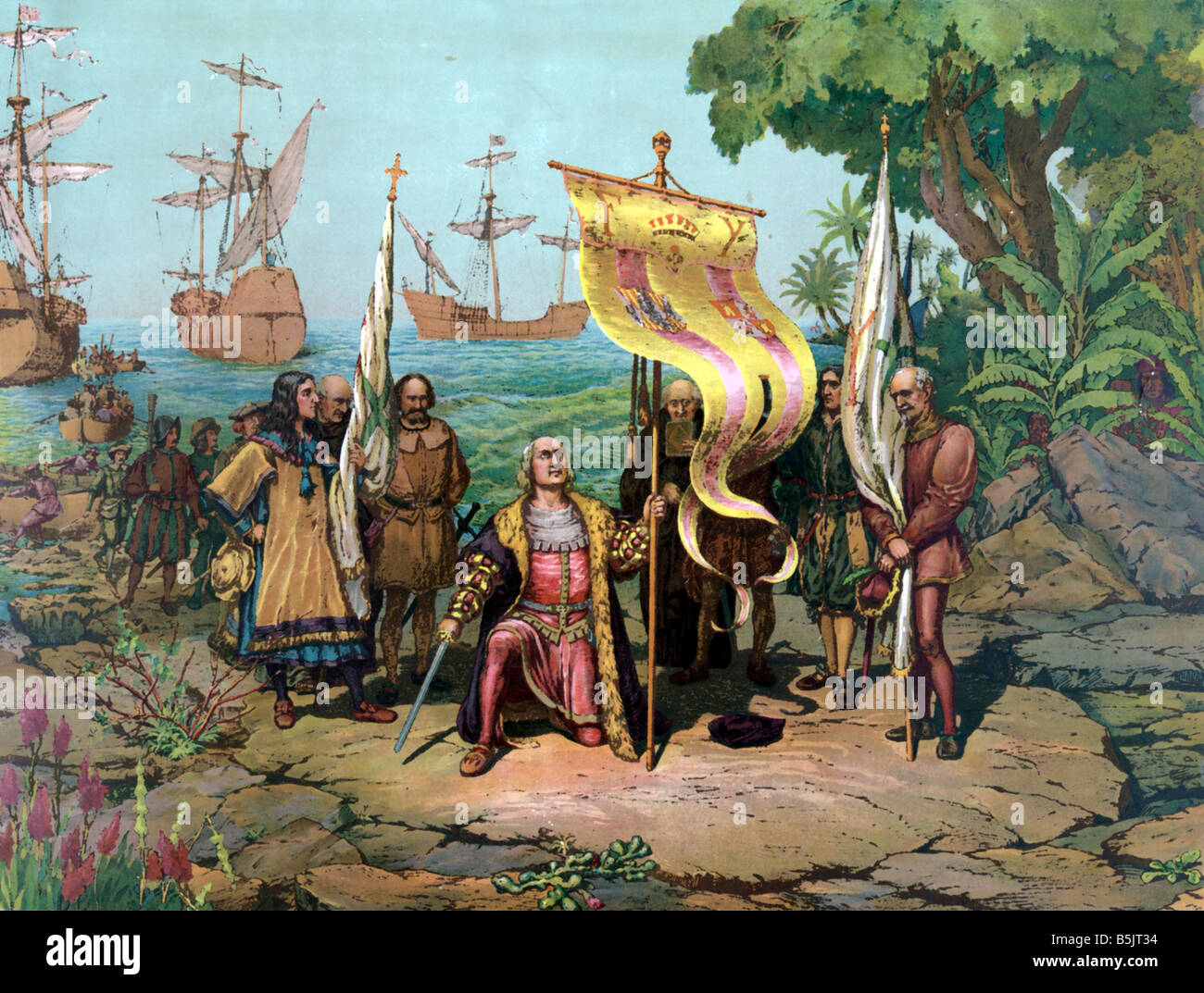 the influence of the spanish explorers on the americas Portuguese spanish french british american all explorers pirates  the  british victory proved a serious blow to spanish influence in the new world.
