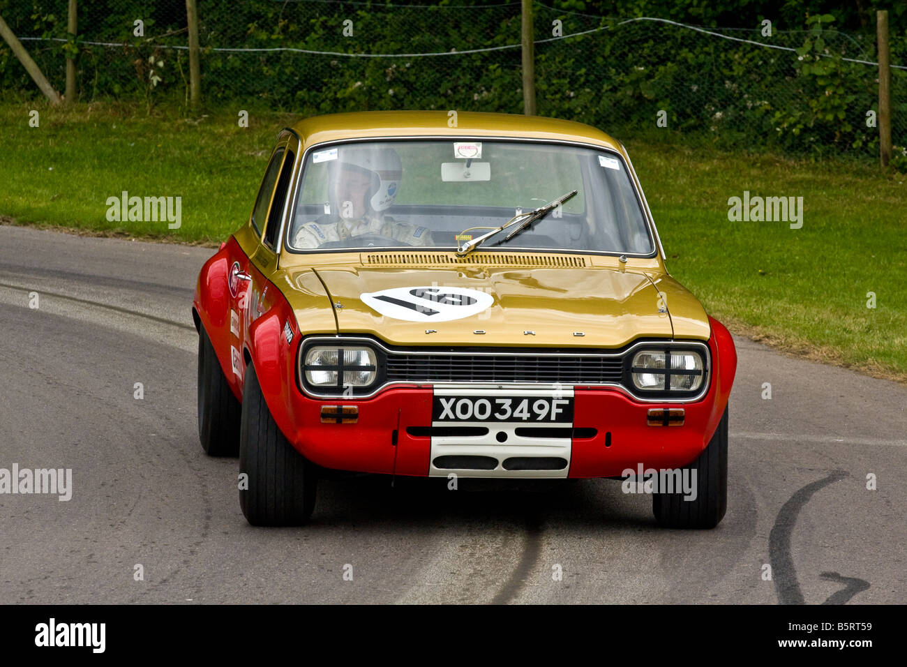 1968 Alan Mann Ford Escort Twin Cam With Driver Sir John Whitmore At Stock Photo 20807509 Alamy