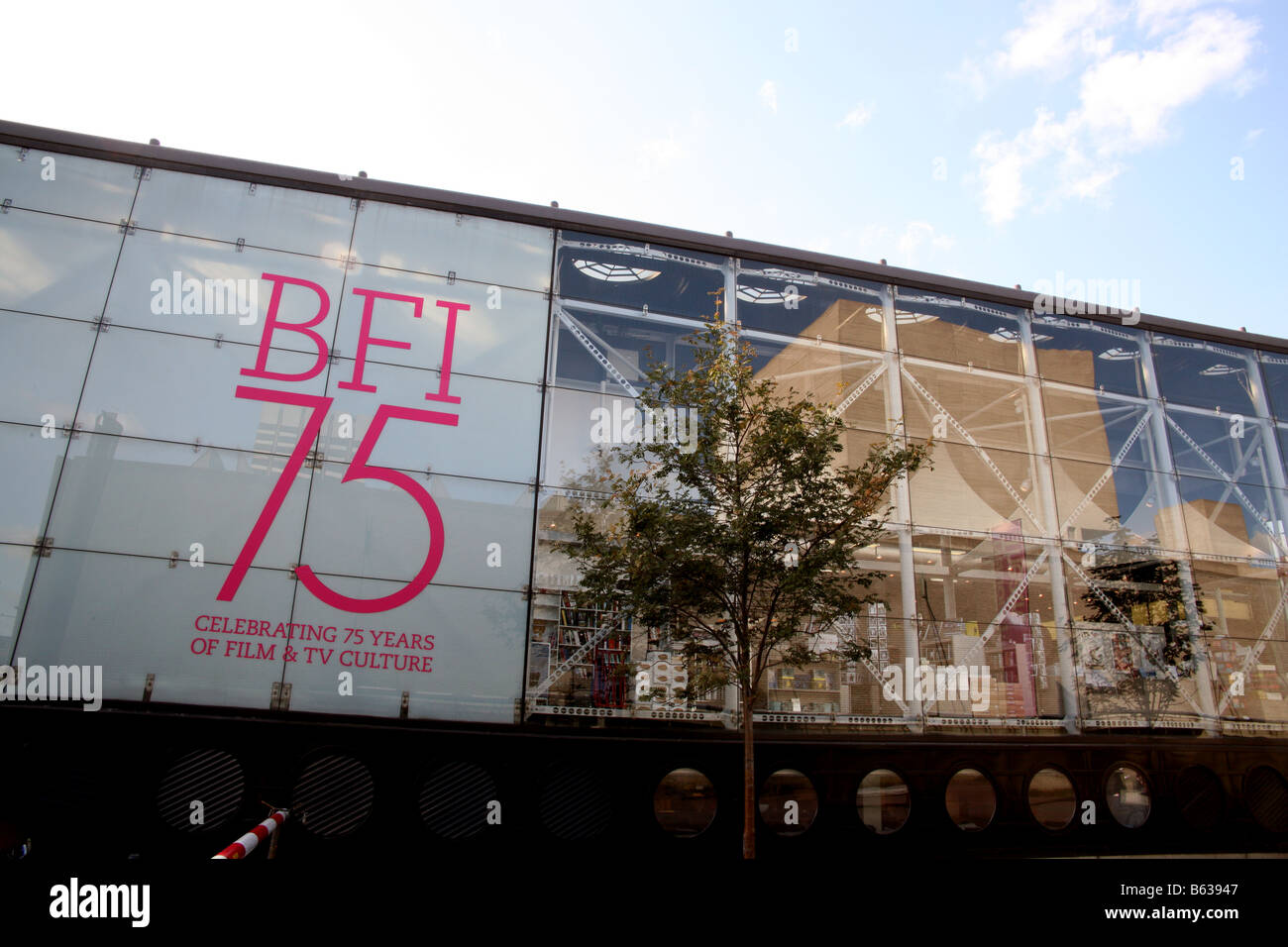 British Film Institute South Bank London - Stock Image