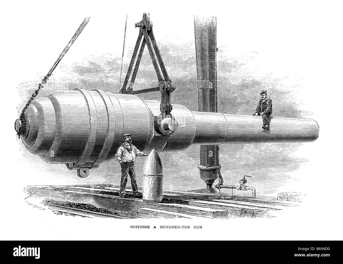 Wg Ltd a one hundred ton mussel loading cannon built by w g armstrong ltd
