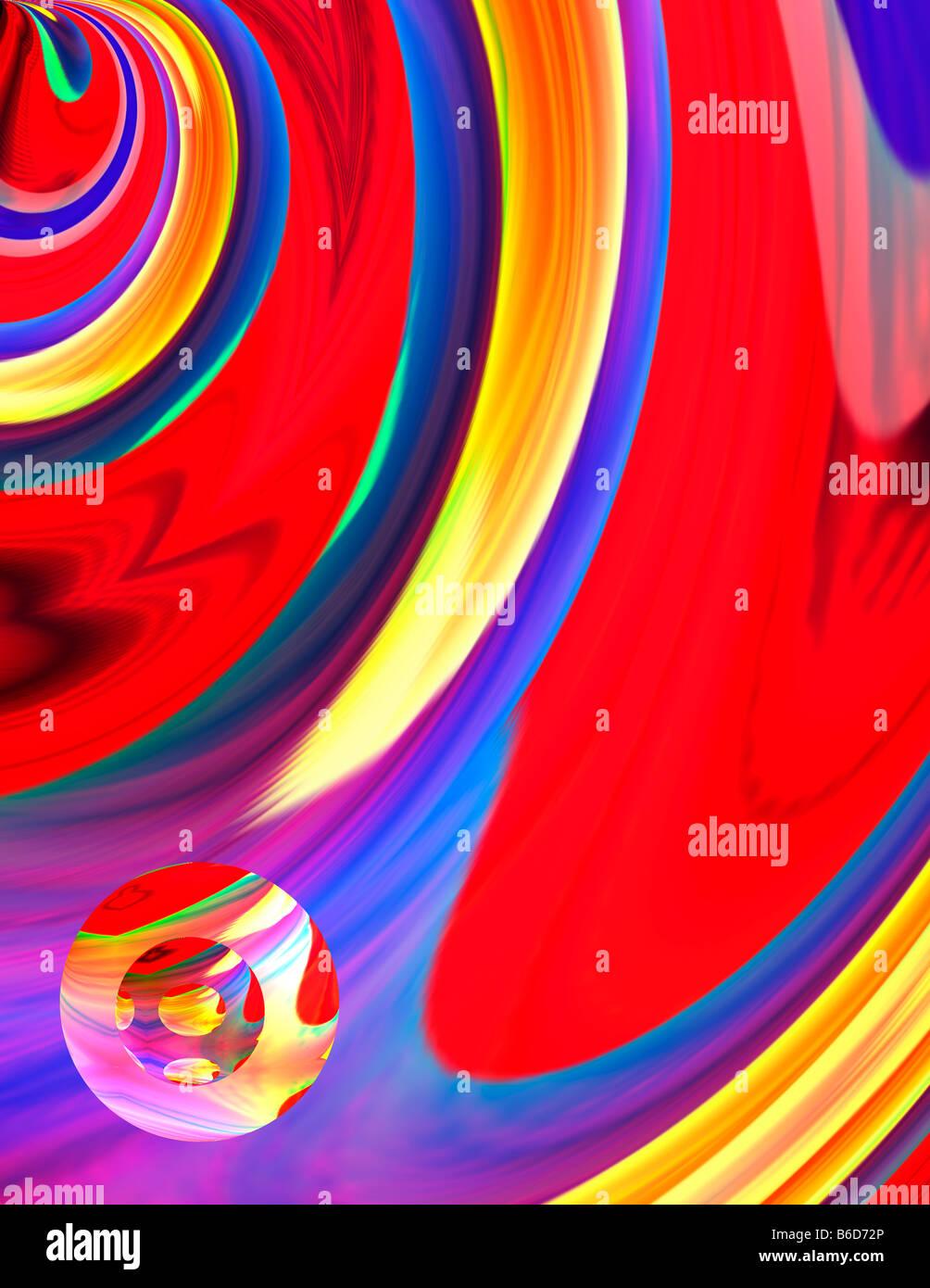 Conceptual Abstract Art - Stock Image