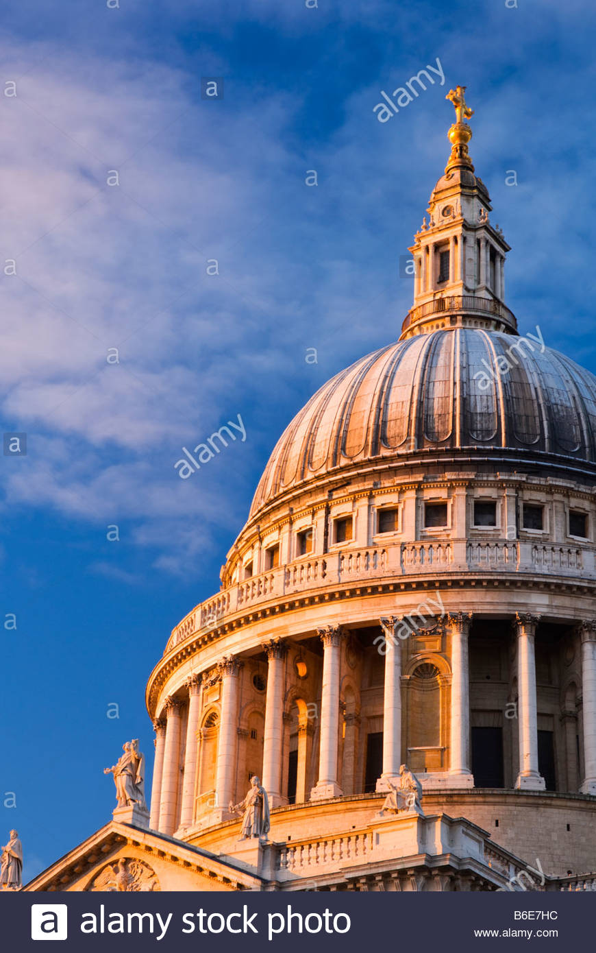 St Paul's Cathedral, London, UK. - Stock Image