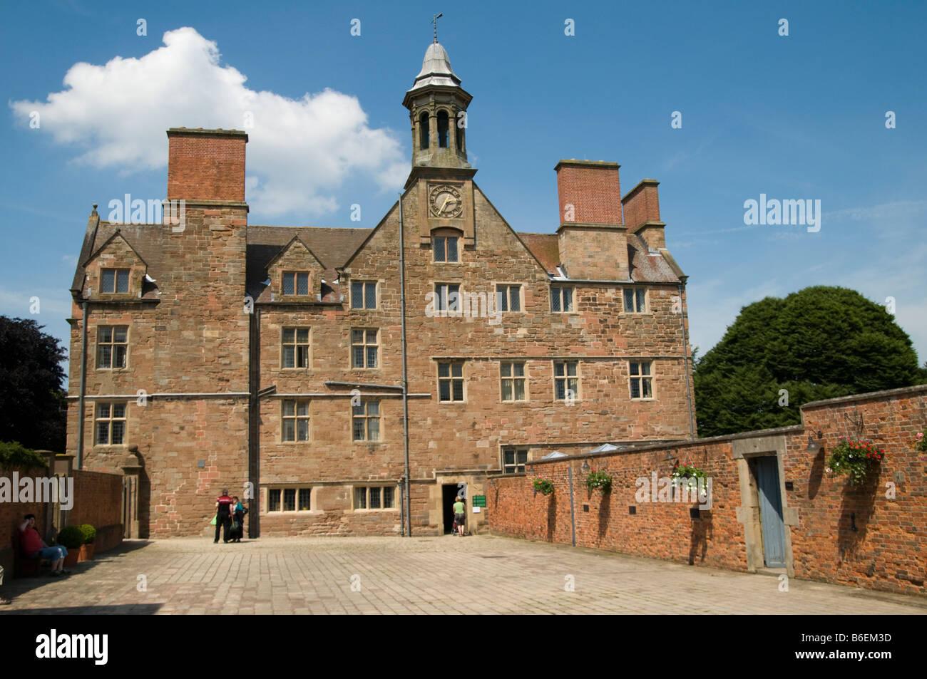 Rufford abbey near Ollerton Nottinghamshire England UK - Stock Image