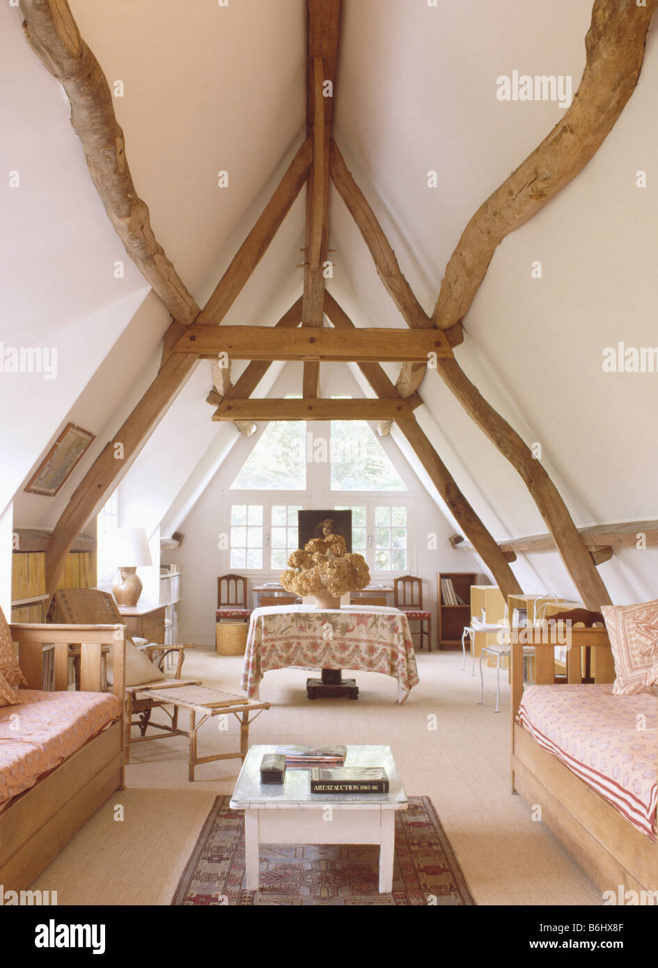 living room ceiling beams wooden beams on apex ceiling in country living room 13206