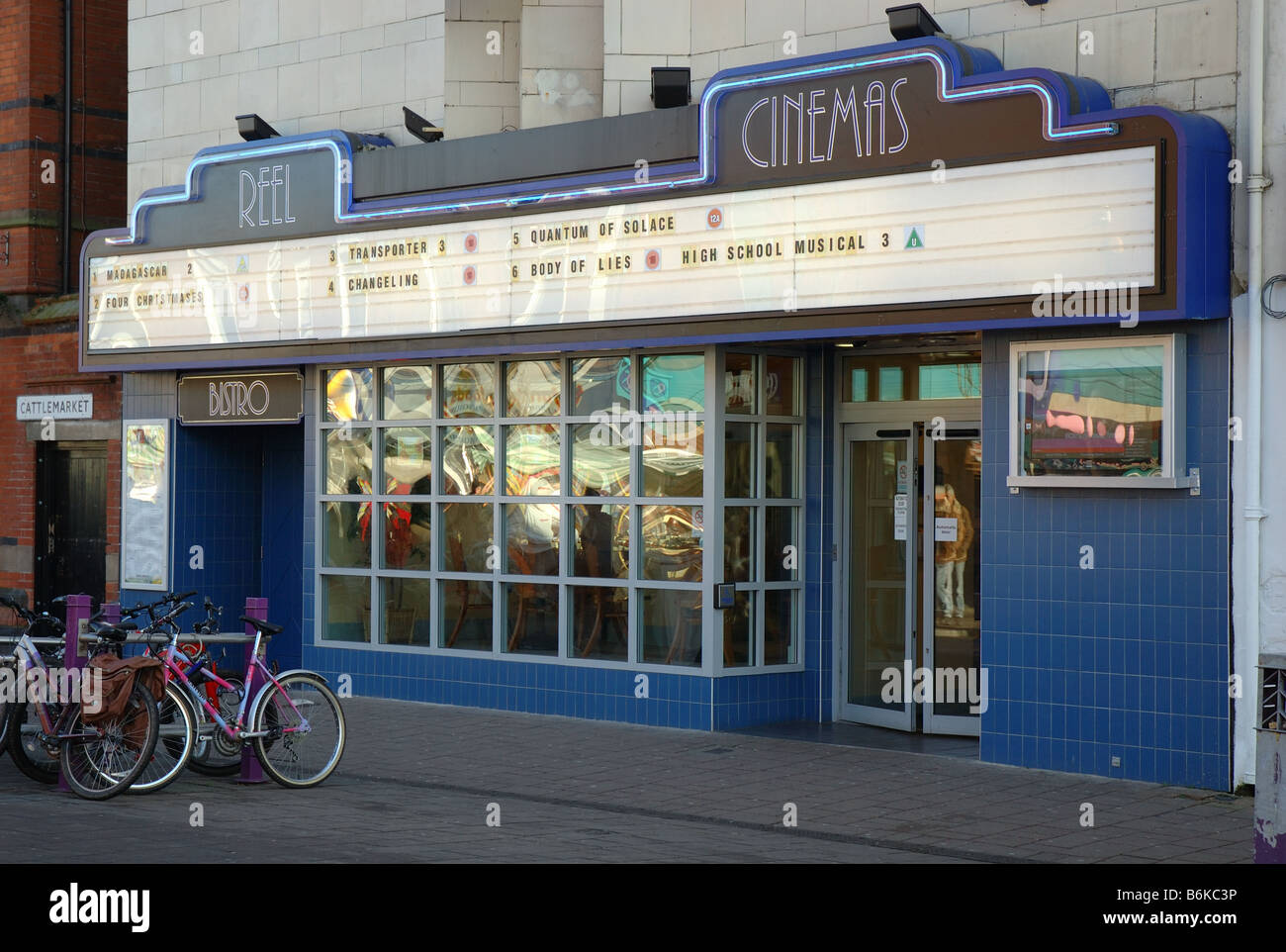Reel Cinema, Loughborough, Leicestershire, England, Uk - Stock Image