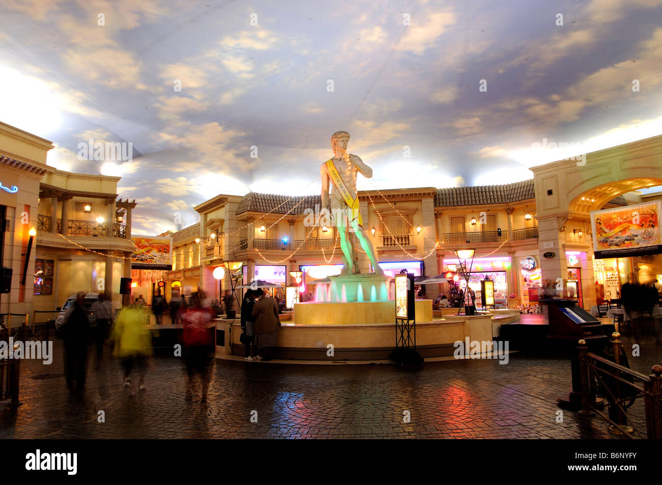 emperor's palace mall johannesburg south africa - Stock Image