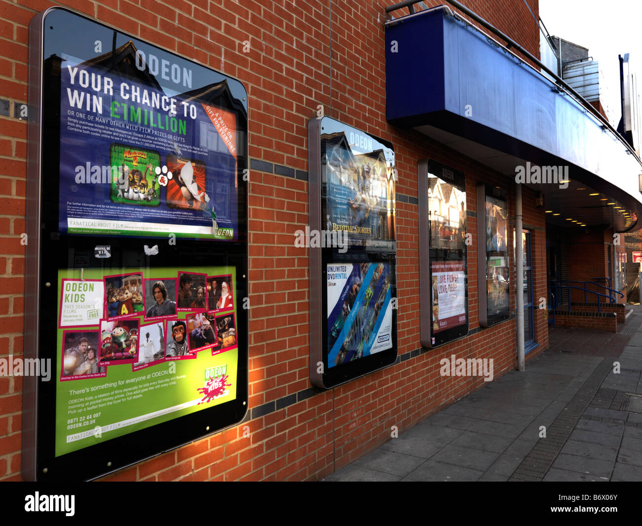 Odeon Cinema Epsom Surrey - Stock Image