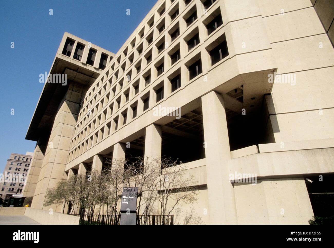 Usa washington dc j edgar hoover building federal bureau of stock