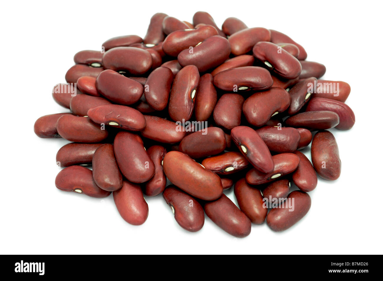 Red Kidney Beans, Dried Stock Photo