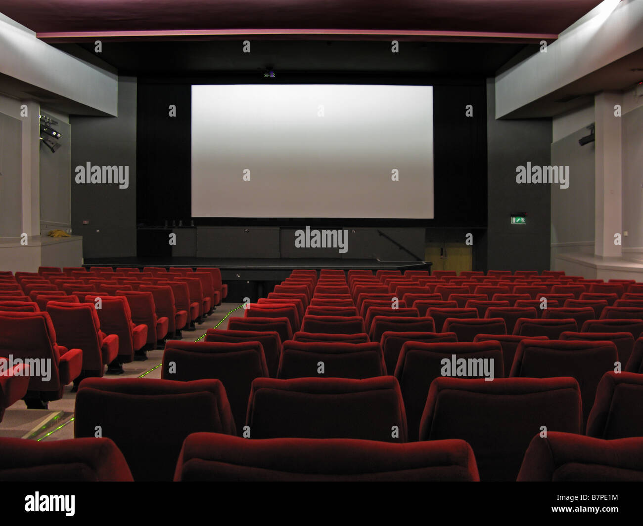 Cinema interior - Stock Image