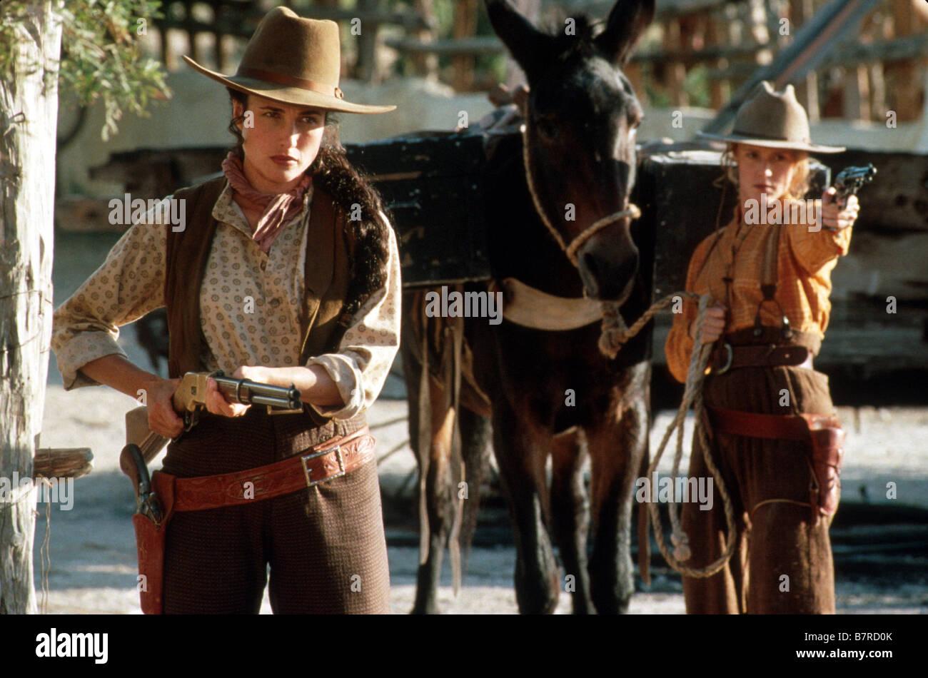 Les belles de l ouest Bad Girls Année 1994 usa Andie MacDowell Mary Stuart Masterson Réalisateur Jonathan Kaplan Stock Photo