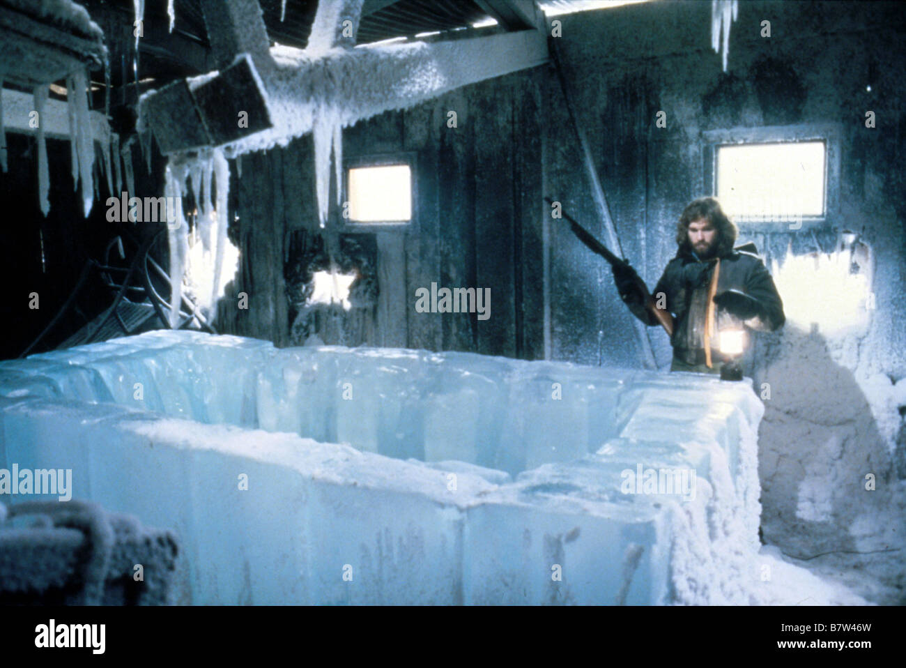 The Thing Year: 1982 USA Kurt Russell  Director: John Carpenter Stock Photo