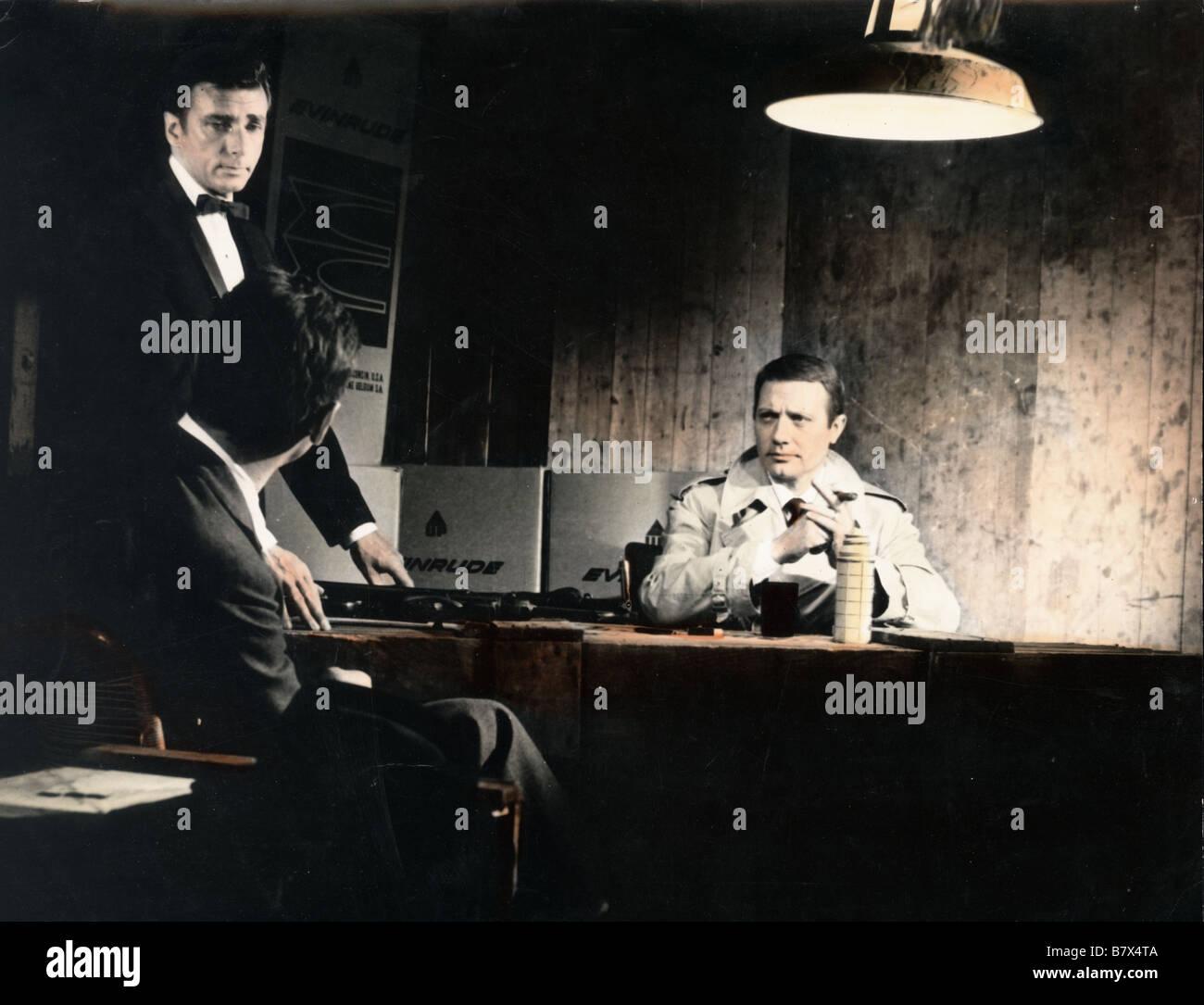 Coplan FX 18 casse tout  Year: 1965  Director: Riccardo Freda Jacques Dacqmine , Richard Wyler - Stock Image