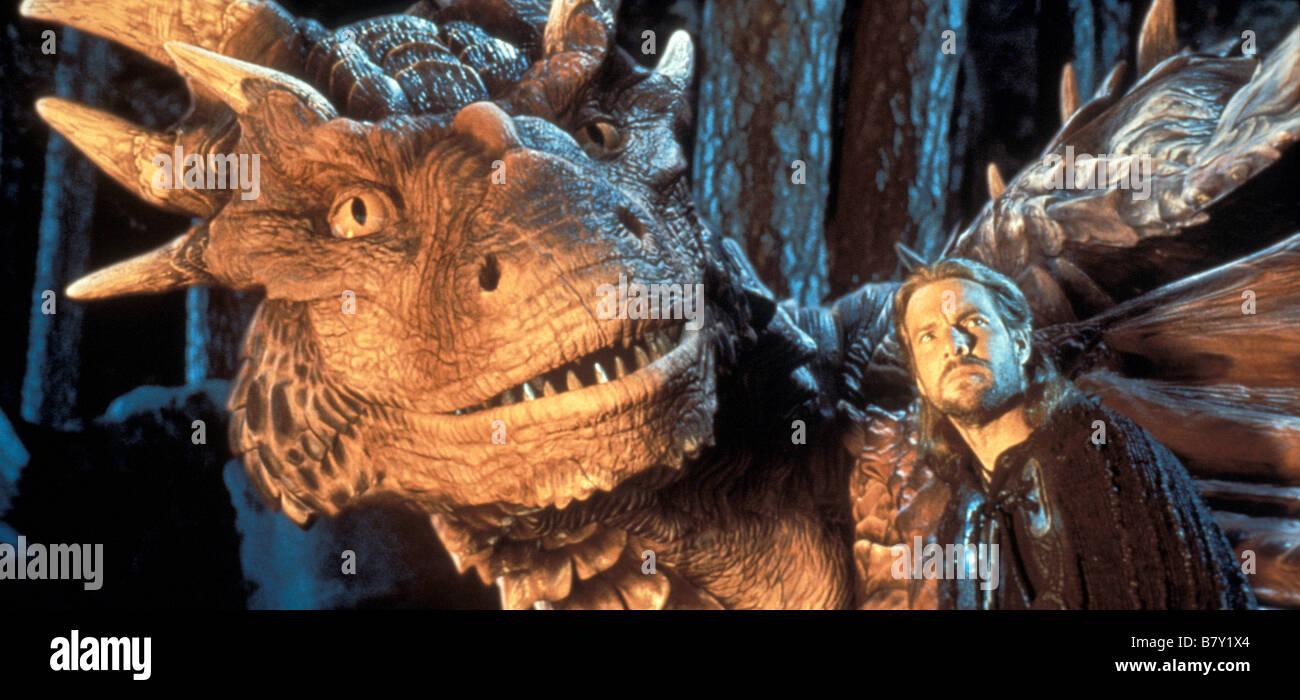 Dragonheart  Year: 1996 USA Dennis Quaid  Director: Rob Cohen - Stock Image