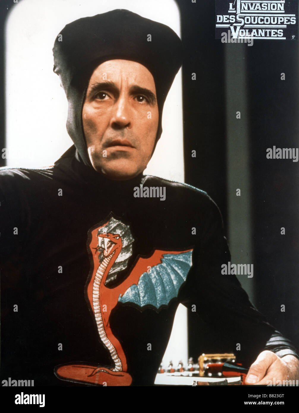 Starship Invasions  Year: 1977 Canada Christopher Lee  Director: Ed Hunt - Stock Image