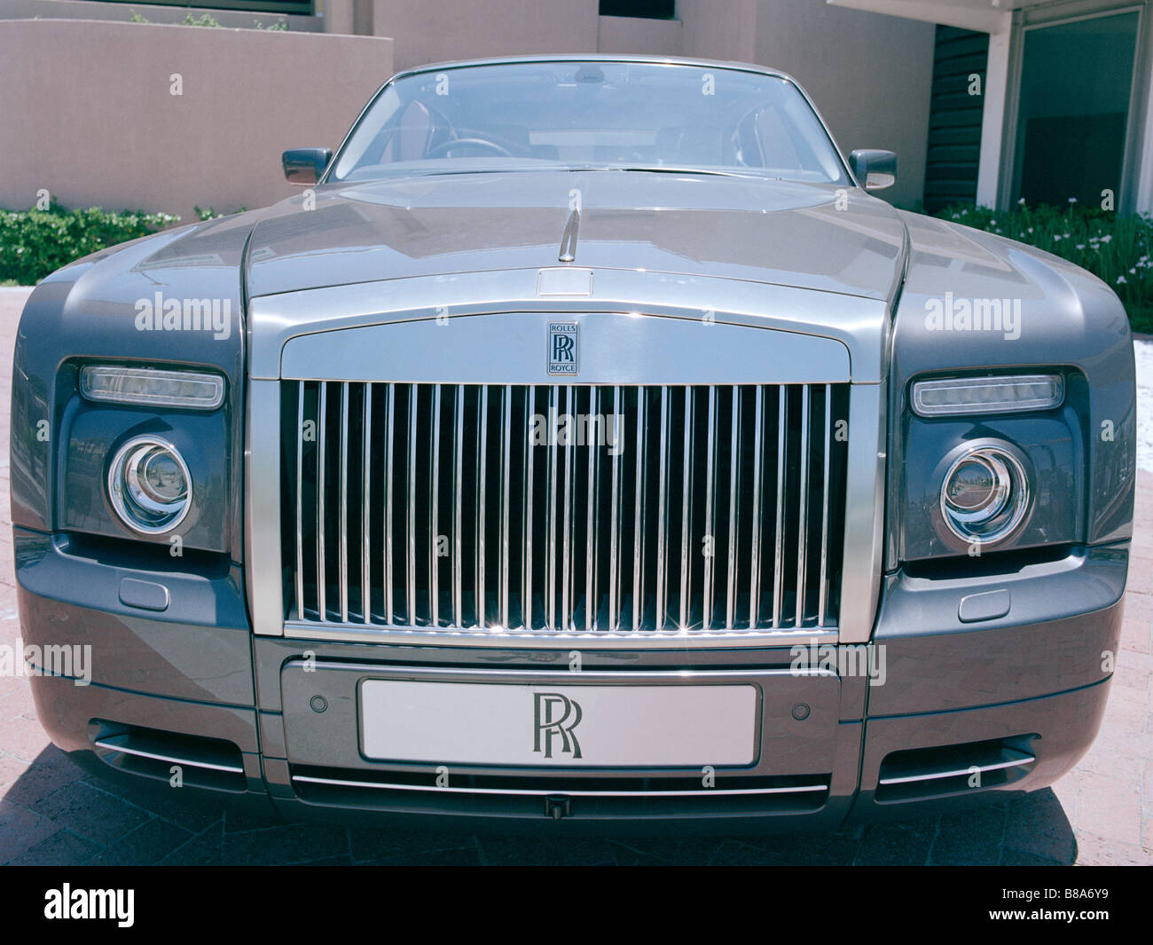 Rolls Royce Car in Cape Town in South Africa in Sub Saharan Africa. Wealth Wealthy Rich Life Lifestyle - Stock Image