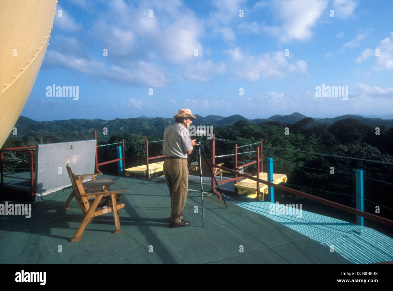 birdwatcher-on-the-top-deck-of-the-canop