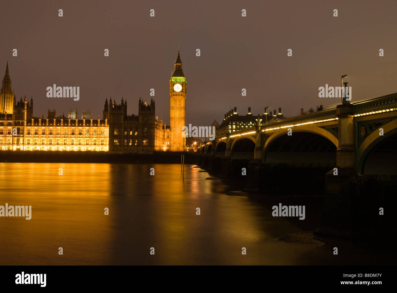 Houses of parliament london - Stock Image