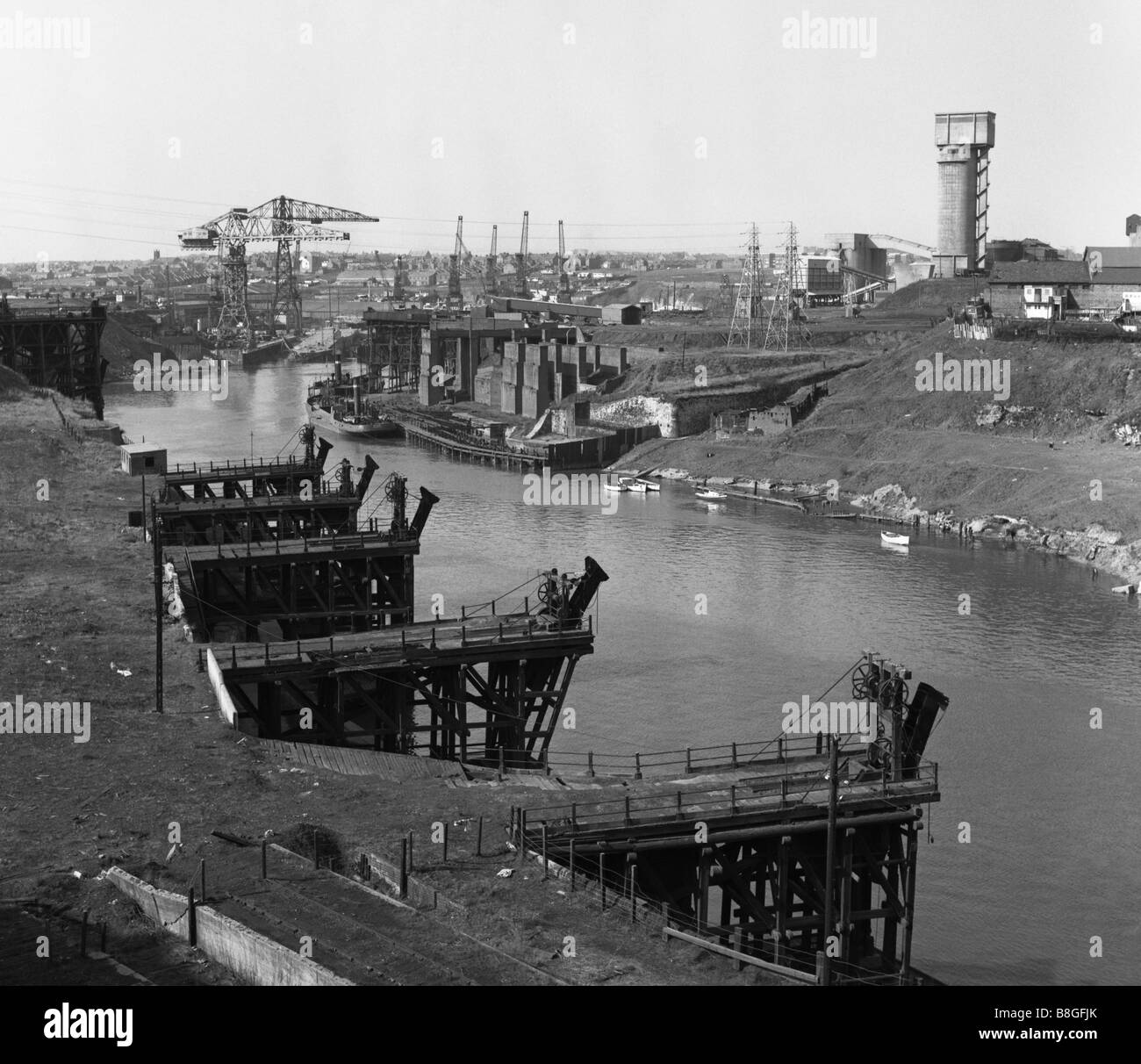 sunderland-coal-staithes-and-monkwearmou