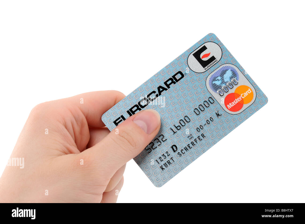 Eurocard Stock Photo 22520351 Alamy