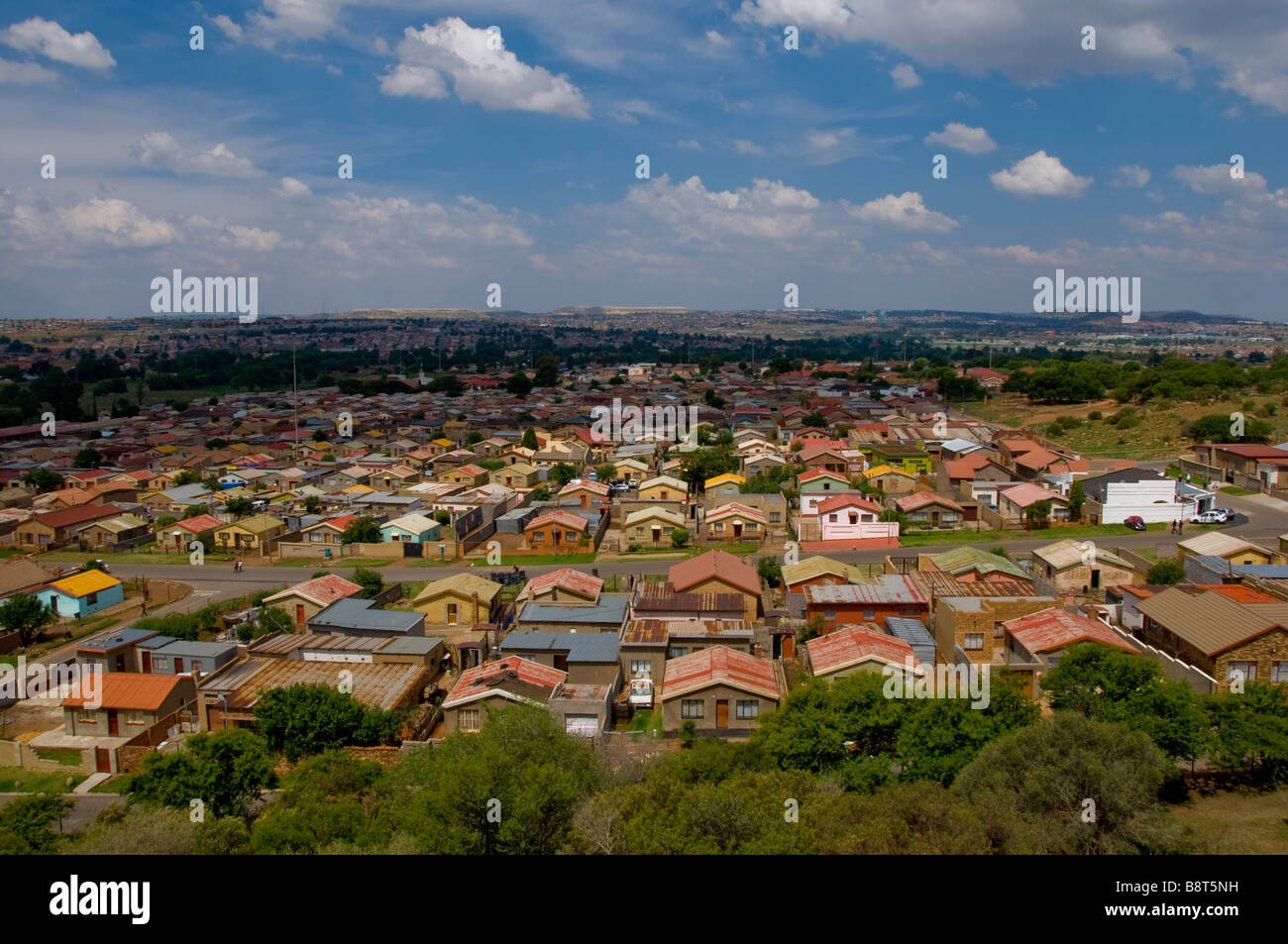 Soweto Johannesburg South Africa - Stock Image