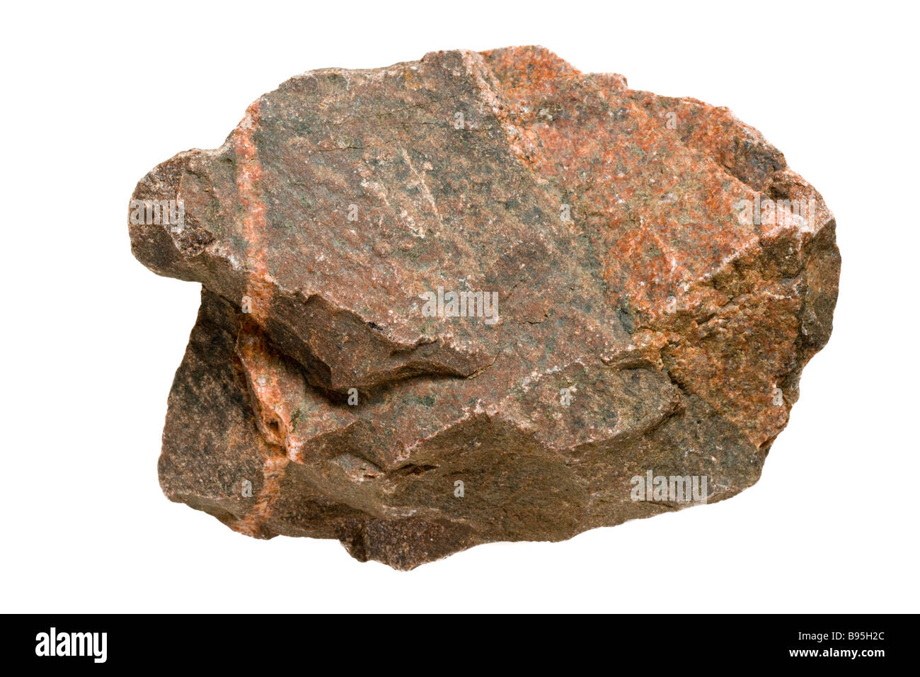 Rock, cut-out. - Stock Image