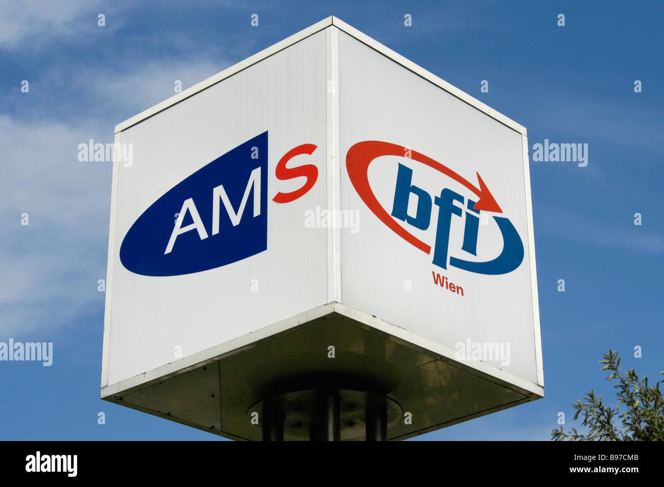 AMF and BFI Logo, - Stock Image