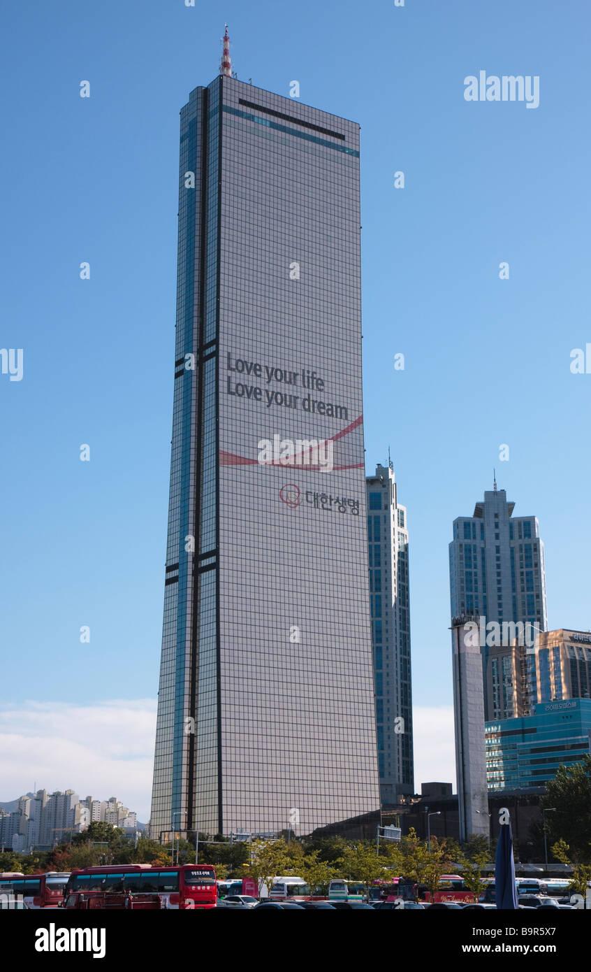 63 Building, Seoul, South Korea - Stock Image